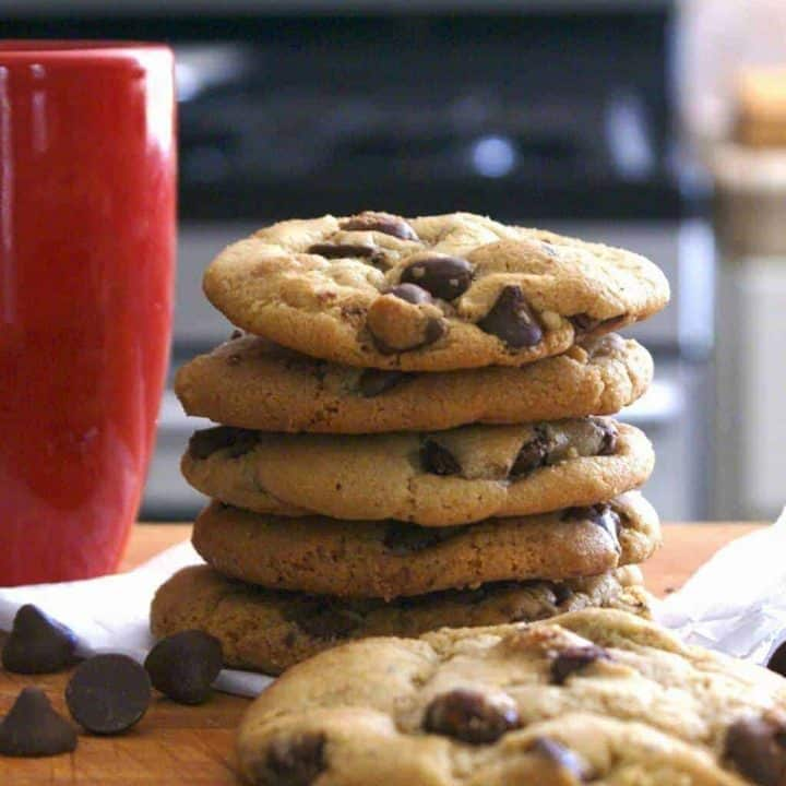 Chewy Chocolate Caramel Chip cookies