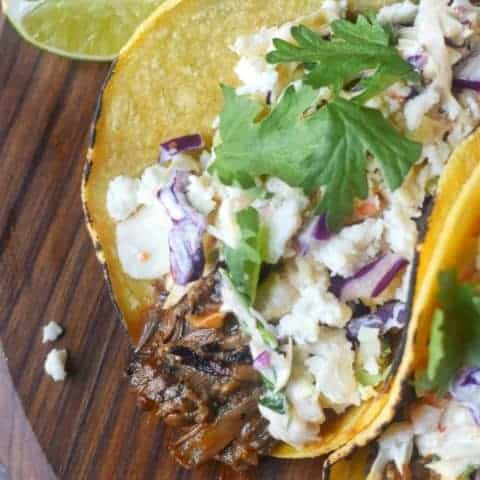Slow Cooker Short Rib Tacos