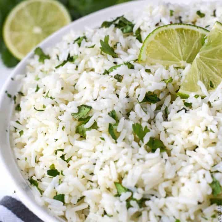 cilantro lime garlic rice