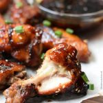 oven baked spicy teriyaki chicken wings