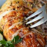 brined garlic herb turkey breasts
