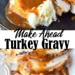 make ahead turkey gravy