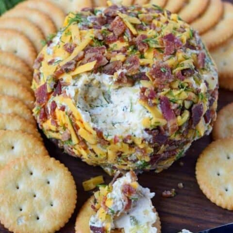 Dill Pickle Cheese Ball