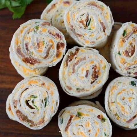 Bacon Jalapeno Pinwheels