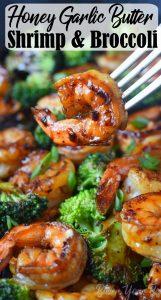 honey garlic butter shrimp