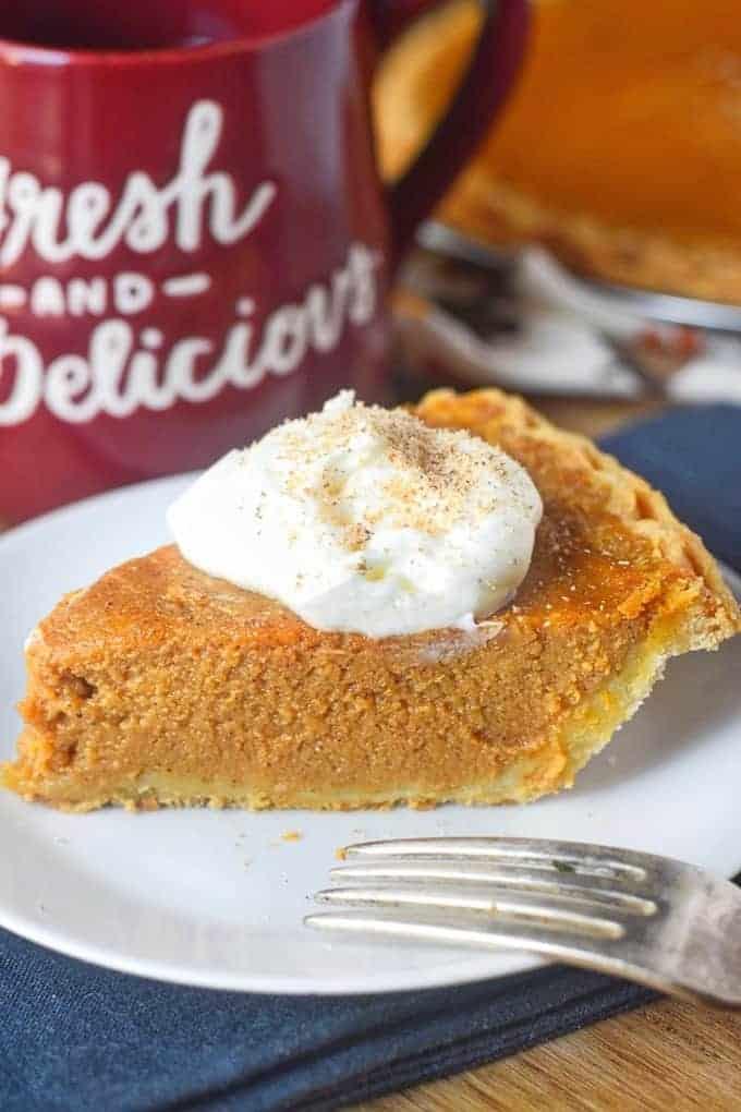 Buttermilk Pumpkin Pie