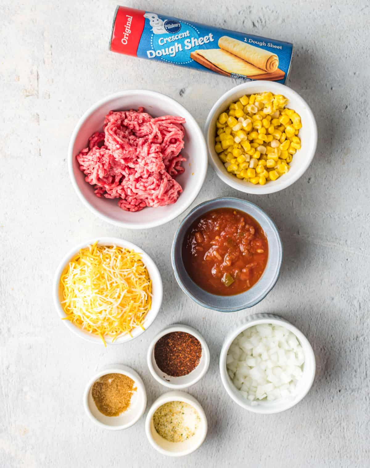 A close up photo of all the ingredients.