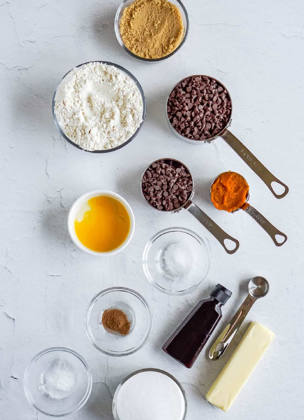All the ingredients needed for this recipe.